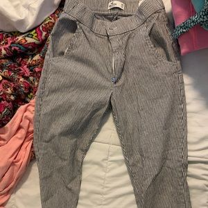 Hollister striped pants